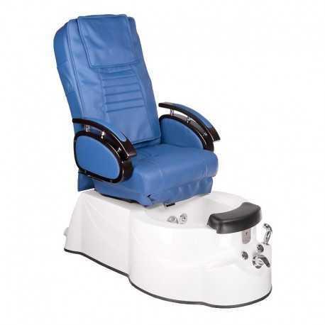 BR-3820D Fotel Pedicure SPA Niebieski