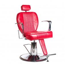 Fotel barberski OLAF Czerwony