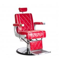 ODYS Fotel barberski Czerwony