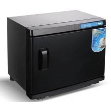 BN-218 Podgrzewacz ręczników + sterylizator UV Czarny