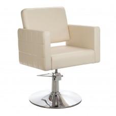 BM-6302 Fotel fryzjerski Ernesto Kremowy